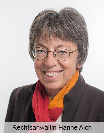 Rechtsanwältin Hanne Aich Familienrecht Fachanwältin