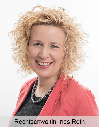 Rechtsanwältin Ines Roth  Allgemeines Zivilrecht Pferderecht Familienrecht Arbeitsrecht Verkehrsrecht Erbrecht