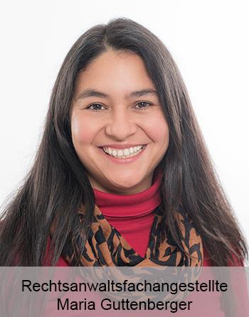 Rechtsanwaltsfachangestellte Maria Guttenberger - Sekretariat