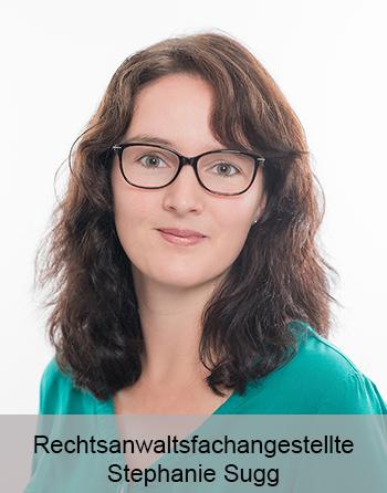 Rechtsanwaltsfachangestellte Stephanie Sugg - Sekretariat